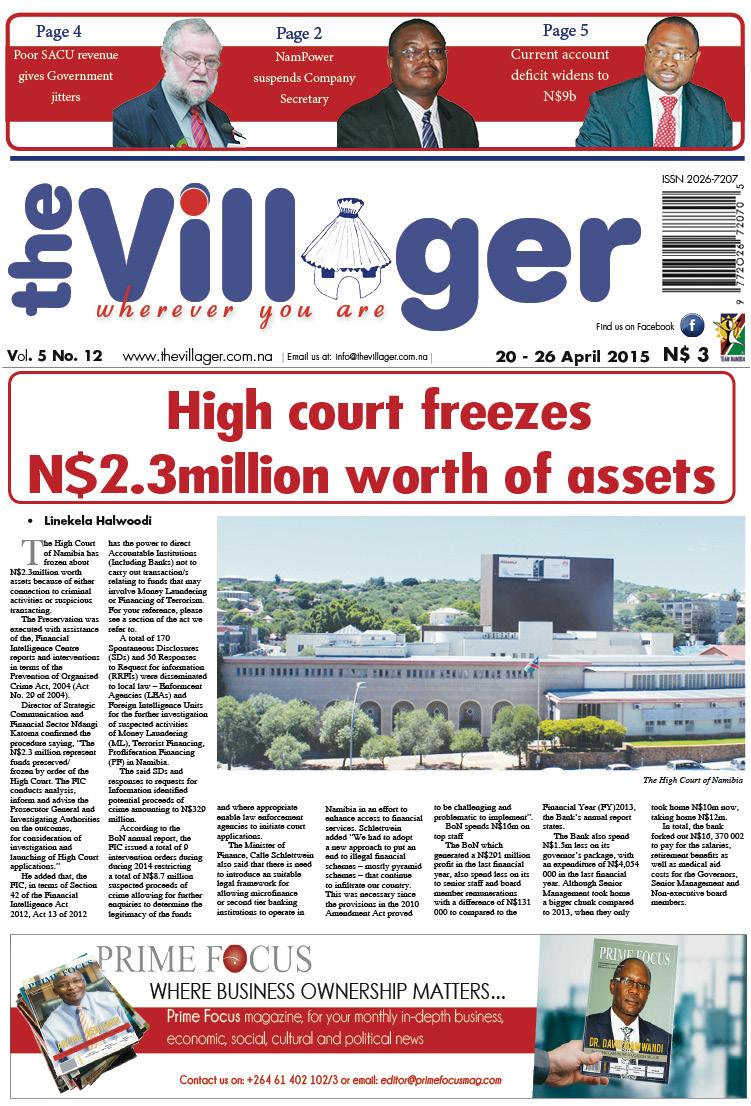 Namibian Newspaper Vacancies