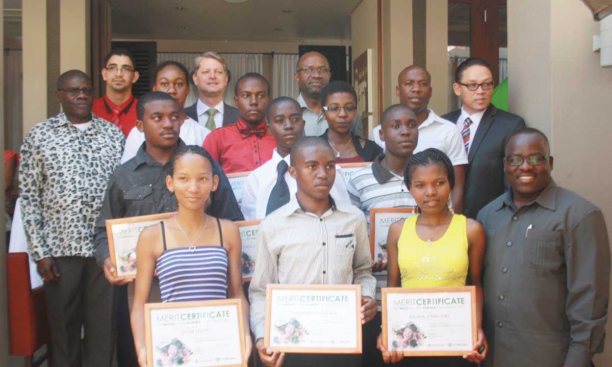 Old Mutual Namibia awards bursaries by Timoteus Shihepo Mon, 11